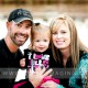 Josh & Misty's fun outdoor family portrait session off 19th Ave. in Bozeman, Montana.