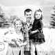 Adorable family pictures on the Sourdough Trail south of Bozeman, Montana.